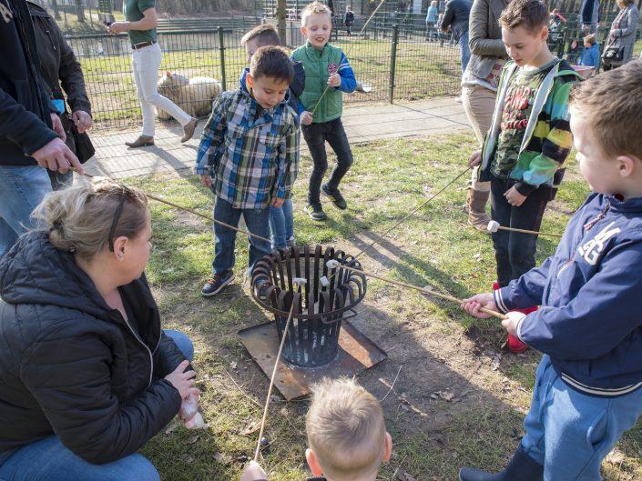 Open dagen: winterfeest bij de kinderboerderij